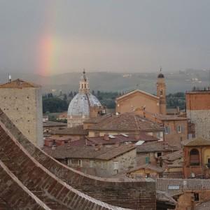 Torri e chiese di Siena