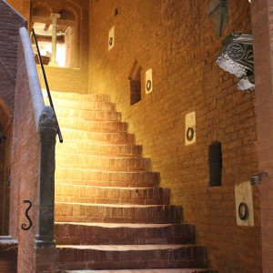 The Palazzetto Rosso - Stairway