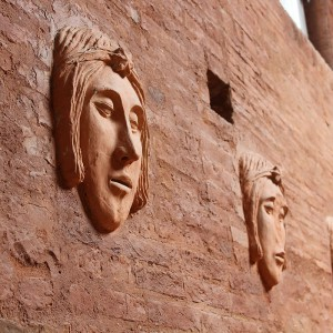 Hotel Palazzetto Rosso - Particolare muro