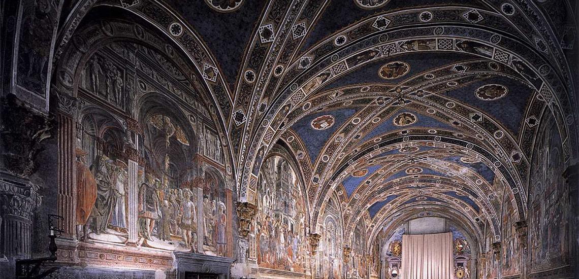 Santa Maria della Scala - Il pellegrinaio