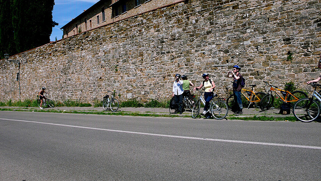 Cyclotourisme Toscane: Sienne - Hotel Siena - Palazzetto Rosso